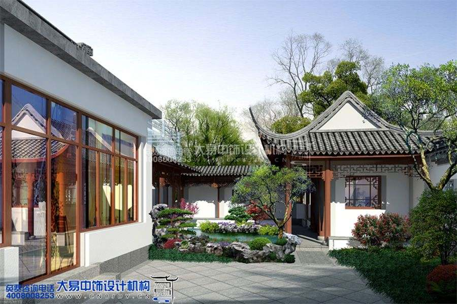 郑州中式园林设计诠释江南园林与中原文化的完美融合