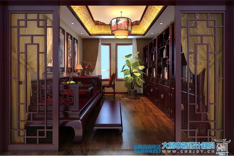 住宅简约中式设计装修 皇城脚下你依然庄重如初