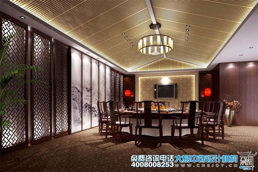 餐饮会所中式设计装修 尽享宫廷盛宴