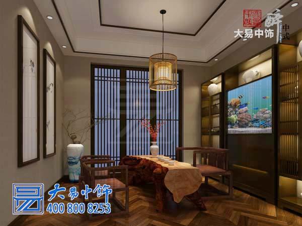 新中式别墅设计中式装修 黑白灰诠释极简主义