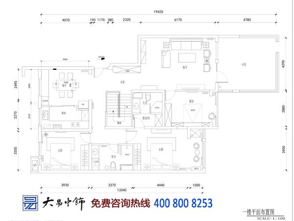 现代中式-香颂复式家居新中式设计 开启现代中式生活诗意篇章