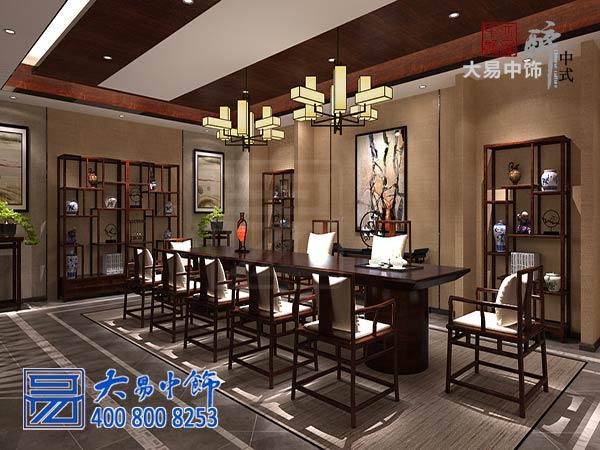 北京私人新中式茶会所中式装修设计 富有层次的立体化会友空间