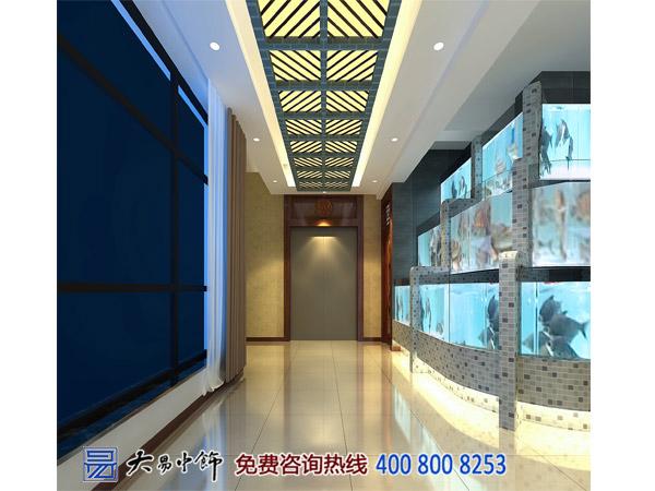 青海西宁中式酒楼设计 造禅意典雅就餐空间