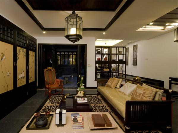 新中式风格装修设计 淡雅含蓄现代中式装修效果图