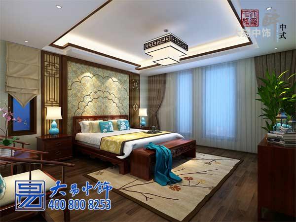 时尚夫妻16万塑造146平中式住宅装饰